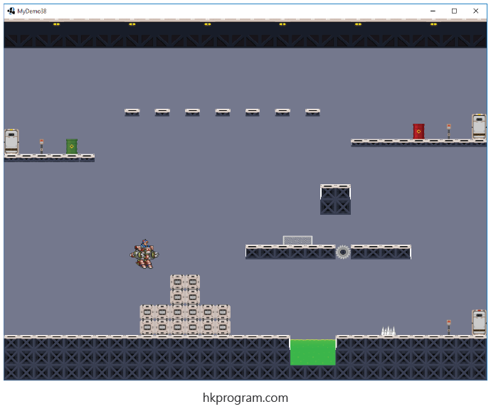 LibGDX:  Tiled (Collision Detection)