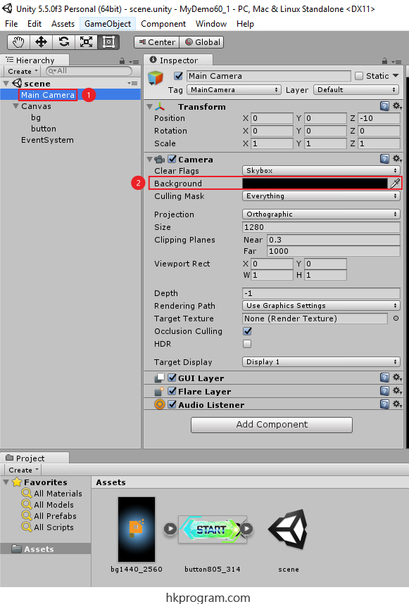 Unity Handling Different Screen Resolutions